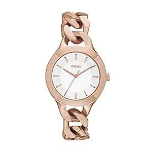 DKNY - NY2218 - Montre Femme - Quartz Analogique - Cadran Doré - Bracelet Acier Or