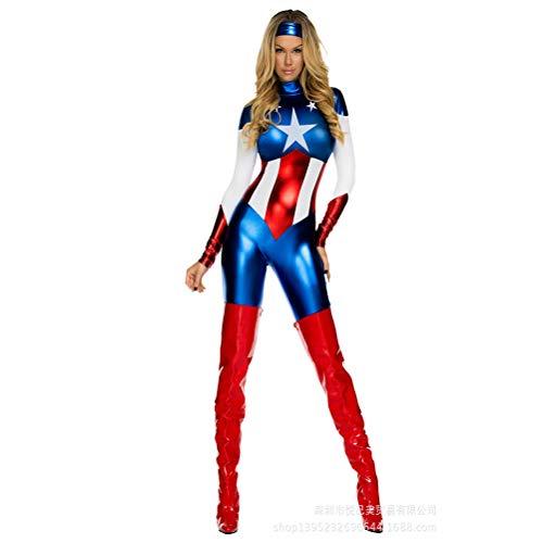 Superwoman Cosplay Halloween Vêtements Cosplay Uniforme Alliance De La  Vengeance Vêtements,M 09c1f0d17dce