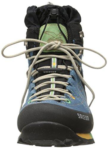 Pistache Senhoras Botas Caminhadas Treinador 3205 Ws Salewa E gtx Neve Ins Azuis Islândia 7fcXq