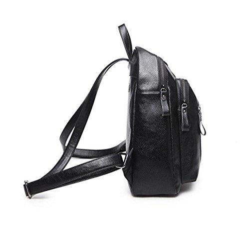 Umhängetasche Wilde Freizeitbeutel Rucksack Handtaschen Personalisierte Einfache Freizeit Black
