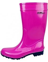 Botas de agua de mujer Bockstiegel modelo Luisa, Tamaño:40, Color:fuchsia