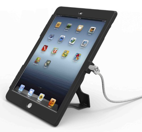 Maclocks IPAD AIR BB Lock and Security Case Bundle mit Kunststoff Schwarze Schutzabdeckung für Apple iPad Air (R) -