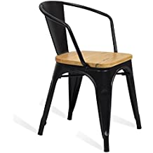 amazon.fr : chaises industrielles - Chaise Industrielle Pas Cher