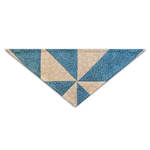 Hectwya Cute Pinwheels Triangle Wind Mehrfarbige Haustierbandanas für Ihren Hund oder Ihre Katze klein bis mittelgroß -