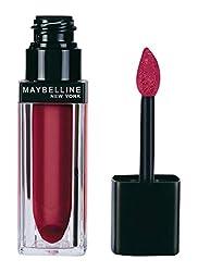 Maybelline New York Color Sensational Liquid Lip Velvet, Power Red, 5ml