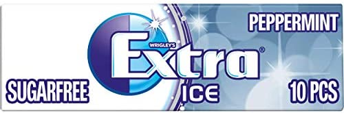 Extra Peppermint Chewing Gum