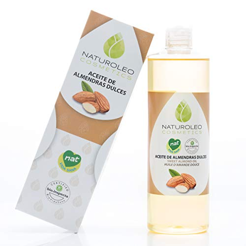 Naturoleo Cosmetics - Aceite Almendras Dulces NAT - 100% Puro y Natura