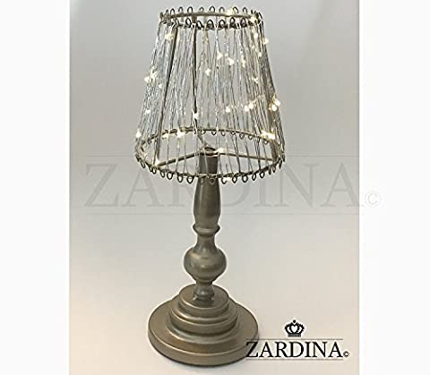 Romantic Quirky Shade LED Lamp (Champagne)