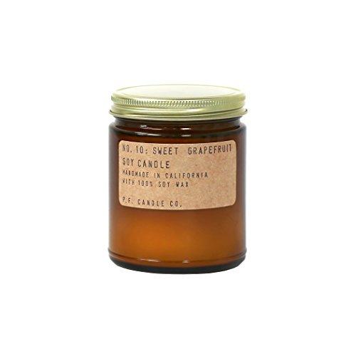 P.F. Candle Co. P.F. Kerze Co.-Nr. 10: Sweet Grapefruit Soja Kerze 3.5 oz Eine Kerze Co