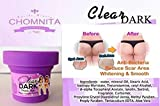 CHOMNITA Clear Dark Skin Bottom Whitening Cream Reduce Acne Stretch Marks Black 100