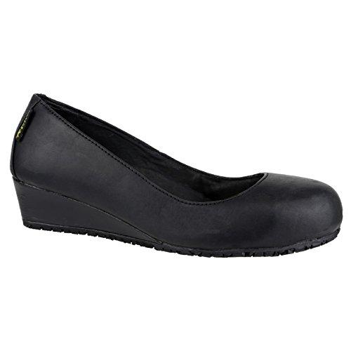 Amblers Safety 107 SB Heel Black Size 7