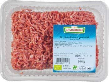 Königshofer Bio Hackfleisch gemischt (6 x 400 gr)