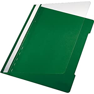 5 Star File A4 Polypropylene Pack of 50 Green