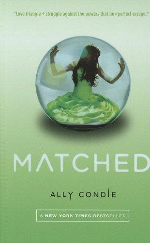 Portada del libro [( Matched )] [by: Ally Condie] [Sep-2011]