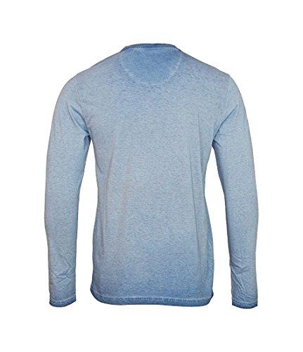 Petrol Industries Herren Hemd, Langärmelig T-Shirt Ls R-Neck 571-/-M-fw16-tlr774 Teal