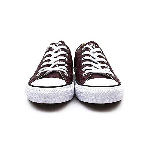 Converse  Chuck Taylor All Star Mono Ox,  Sneaker unisex adulto Burgundy