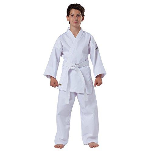 KWON Kimono Karate Blanc debutants Petits Tailles Ceinture Blanche - 110 cm par  KWON