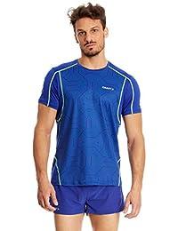 Craft Shirt Kurzarm RUNNING Focus blau M