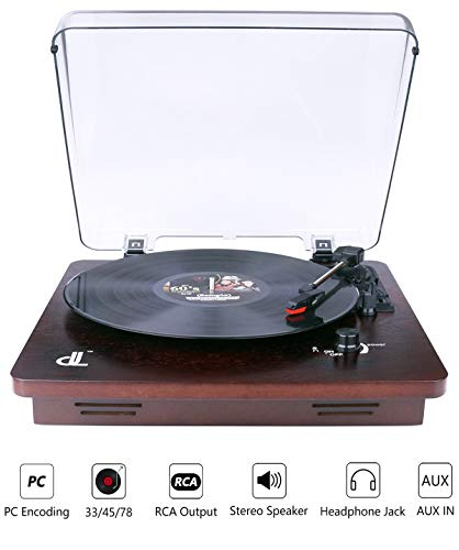 Record Player of dl Vintage Turn...