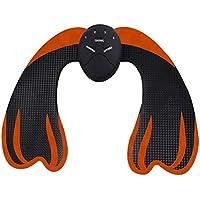 Biback Hip Masaje Trainer Pegatina Patch Hip Trainer Hip Lifting Massager Cuerpo Minceur Patch sin batería, Adultos, Orange+ Noir