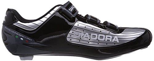 Diadora Trivex Plus, Chaussures de Vélo de Route Mixte Adulte argent (Argento (Silber (silber/schwarz/weiÃY 1147)))