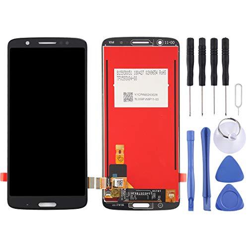 CHENCHUAN LCD Bildschirm LCD Screen und Digitizer Full Assembly für Motorola Moto G6 Plus (Schwarz) Display Ersatz für Motorola (Color : Black) Full-color-display