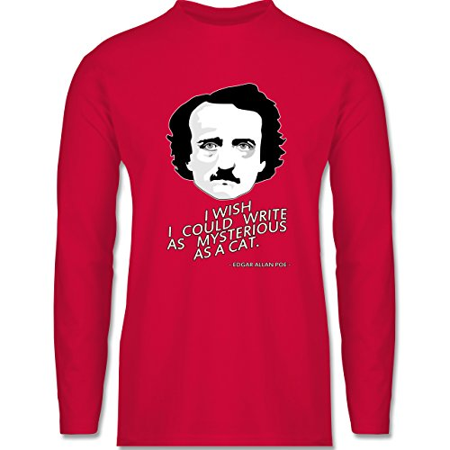 Shirtracer Statement Shirts - Edgar Allan Poe - I Wish I Could Write As  Mysterious As