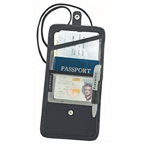 Travelon ID and Boarding Pass/Passport Holder with Snap Closure
