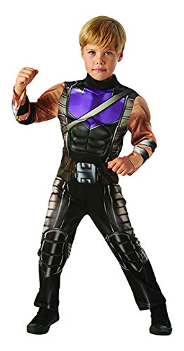 Generique - Hawkeye Kostüm für Kinder Avengers Deluxe