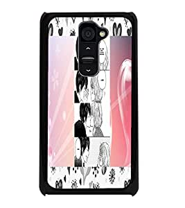 PrintDhaba Story Telling Picture D-2937 Back Case Cover for LG G2 (Multi-Coloured)