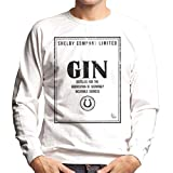 Cloud City 7 Shelby Company Limited Gin Label Peaky Blinders Men's Sweatshirt