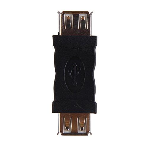 Adaptador De Cable De Acoplador Demiawaking USB 2.0 Plug A Hembra Adaptador De Cable De Acoplador