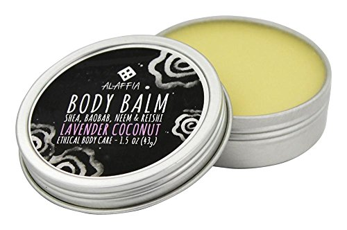 Body Balm - Shea, Baobab, Neem & Reishi Lavender Coconut 1.5 oz