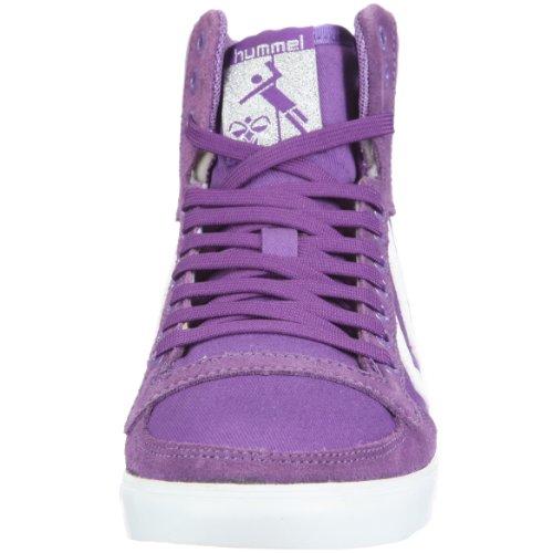 hummel HUMMEL SLIMMER STADIL HIGH 63-111-2639 Unisex-Erwachsene Sneaker Violett/Royal Purple
