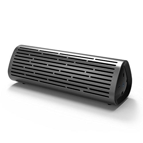 Meidong 2110 Bluetooth Lautsprecher Portable Wireless Lautsprecher mit 12W Rich Deep Bass, wasserdicht IPX4 Dusche Splash Proof, Premium Aluminium Shell und 12 Stunden Playtime
