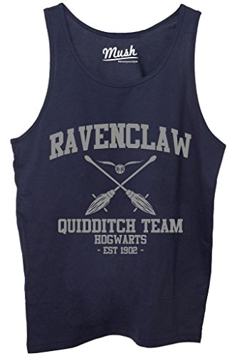 Canotta RAVENCLAW QUIDDITCH HARRY POTTER - FILM by Mush Dress Your Style - Donna-M-Blu navy