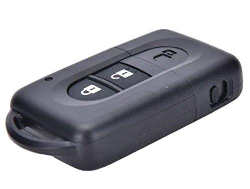 Preisvergleich Produktbild NissanKS24B- Ersatz Schlüsselgehäuse mit 2 Tasten Autoschlüssel Schlüssel mit Rohling typ (NSN14) Fernbedienung Funkschlüssel Gehäuse ohne Transponder oder Elektronik. Jurmann Trade GmbH®