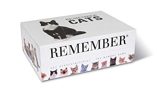 MEM01recordar gatos pares tarjeta memoria juego
