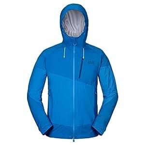 Jack Wolfskin Men's Exolight Texapore XT Jacket, Brilliant Blue, Small