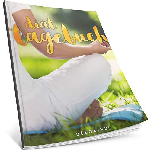 Dékokind® Diät-Tagebuch: Clevere 90 Tage Challenge zum Abnehmen || Das Abnehmtagebuch / Ernährungstagebuch zum Ausfüllen || C_01