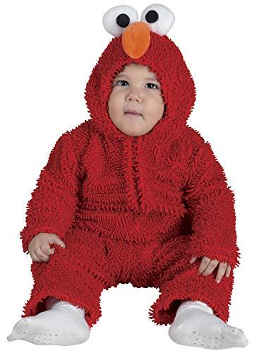 chiber Disfraces Baby-Monster Kostüm Rot (92 cm. (12-24 Monate)) (Sesamstraße Baby Kostüm)
