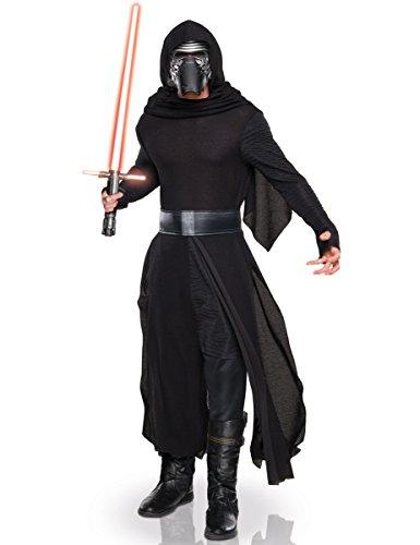 Ren Kind Kylo Kostüm - KULTFAKTOR GmbH Kylo Ren Star Wars Kostüm Lizenzware schwarz-Silber M / L