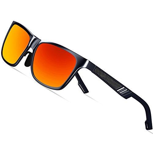 KITHDIA de magnesio y aluminio polarizadas de los hombres gafas de sol para  la conducción deportiva 646e560605b0