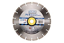 Premier Diamond DP15010 P3-B Blade for Building Materials and Concrete, Silver, 230 x 22.2 mm