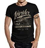 Biker Hot-Rod Racer T-Shirt Lowrider Passion M