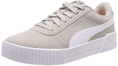 Puma Damen Carina Sneaker, Grau (Silver Gray-Puma White-Puma Silver), 38 EU