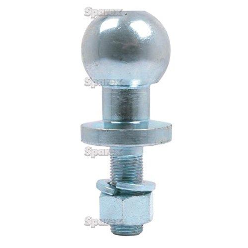 Sparex - Heavy Duty Tow Ball Pin-ATV/Quad - Chrom - 16 mm/50mm (Atv Anhängevorrichtung)