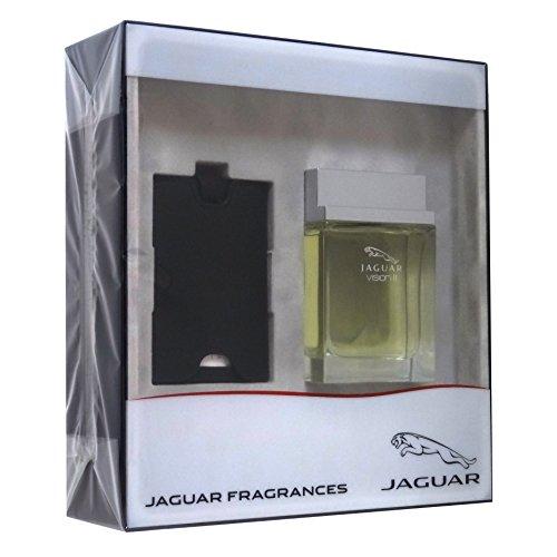 Jaguar Vision II Confezione Regalo 100ml EDT Spray + Tag per Bagaglio