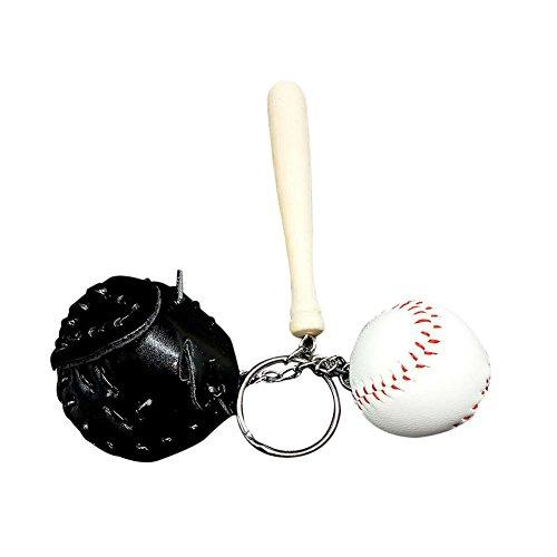 Westeng Mini Baseballhandschuhe Baseball Handschuhe Model Schlüsselanhänger (Mini Handschuh Unisex)