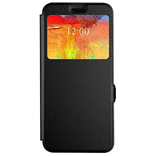 Leagoo S8 Pro Hülle, iBetter Leagoo S8 Pro Premium PU Leder Kasten für Leagoo S8 Pro Smartphone (Schwarz)